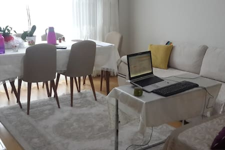 sweet home in a safe family resident apartment - Bağcılar - Serviced apartment