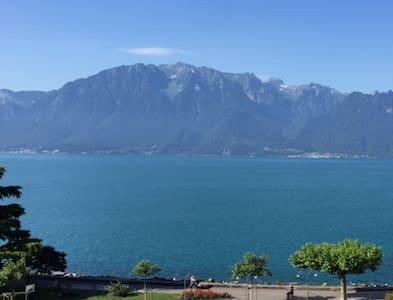 Exclusive 136m2 penthouse, Geneva lake shorefront. - Vevey - Loft