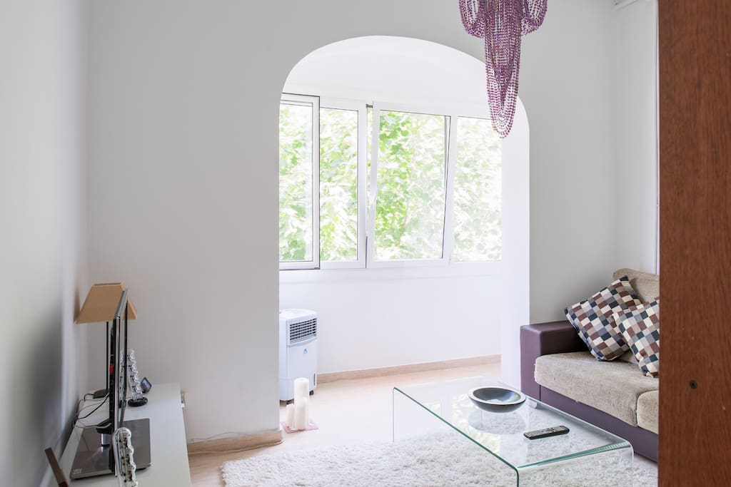 Cozy and quiet flat in eixample
