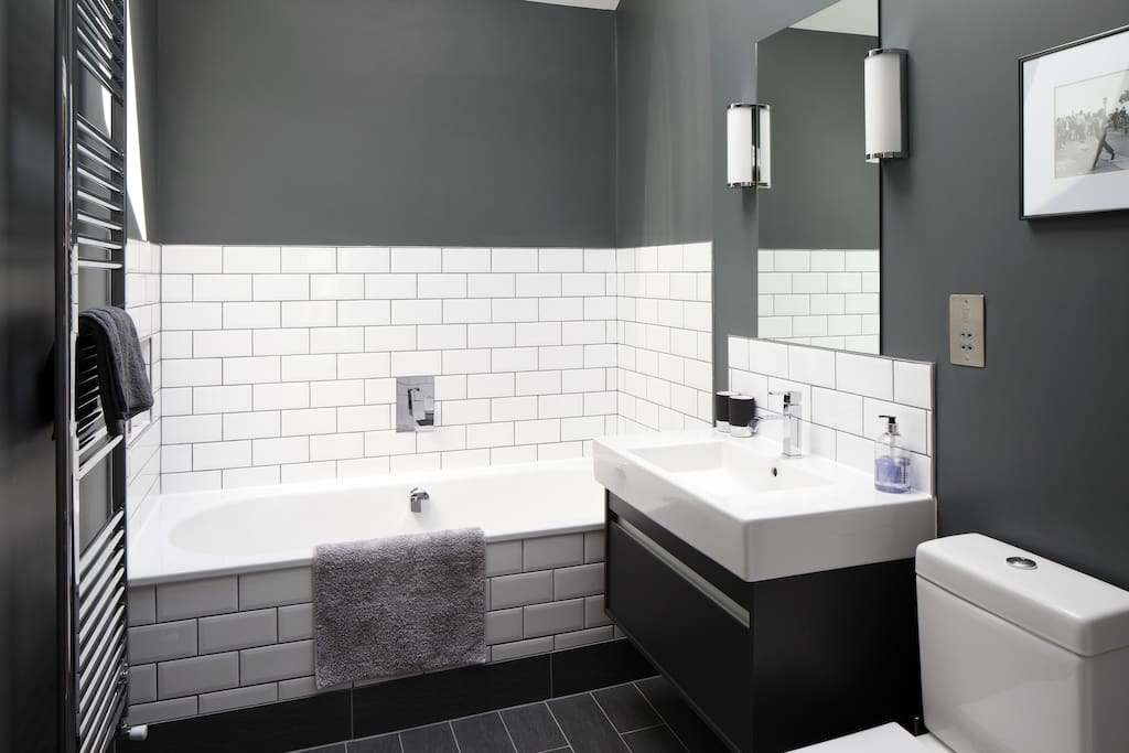 Guests have their own luxury bathroom