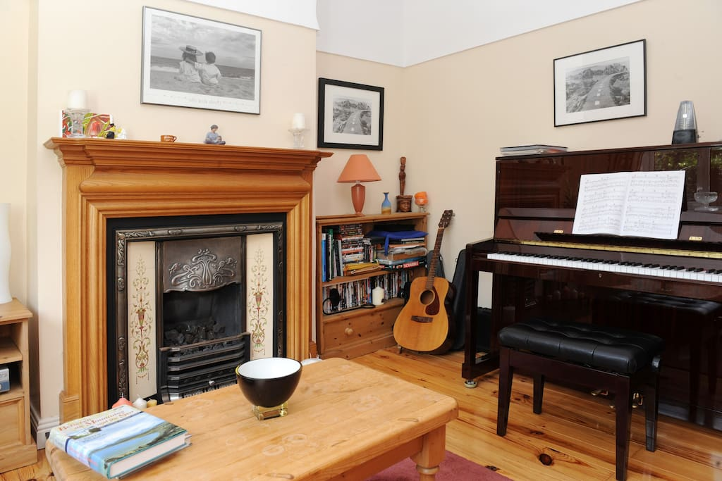Petrov Piano in second sitting room