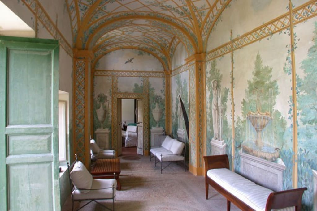 The Villa entrance hall