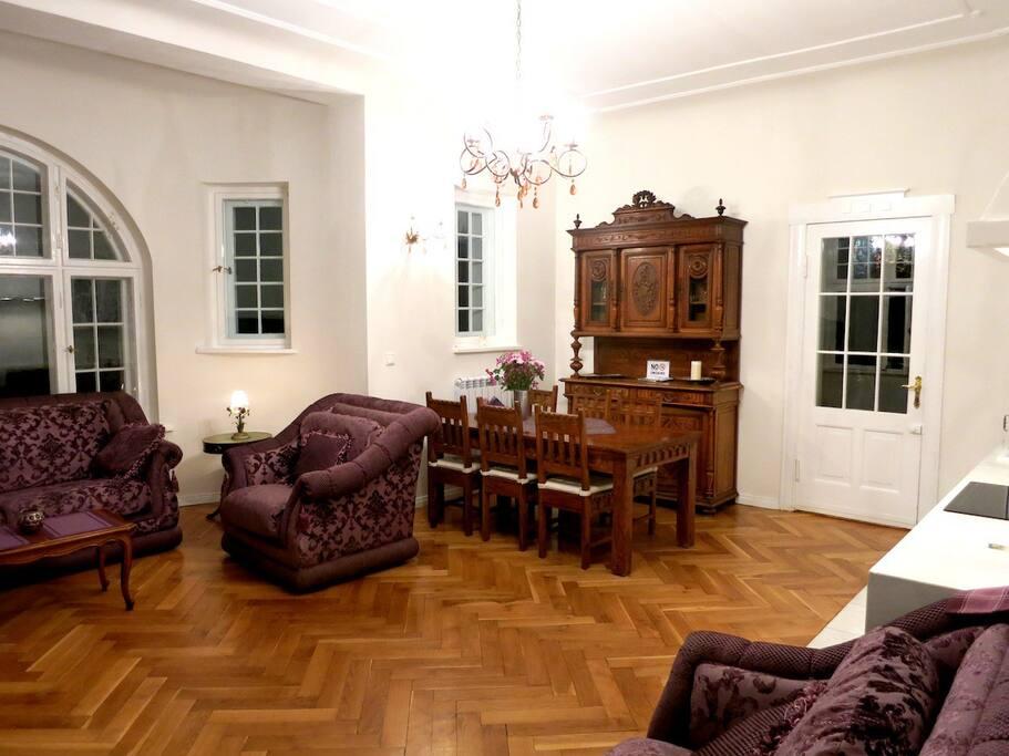 Stylish apt in quiet upper Sopot