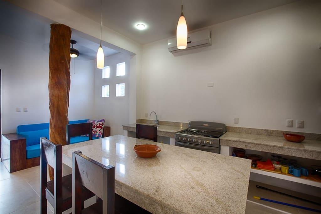 Canela's kitchen