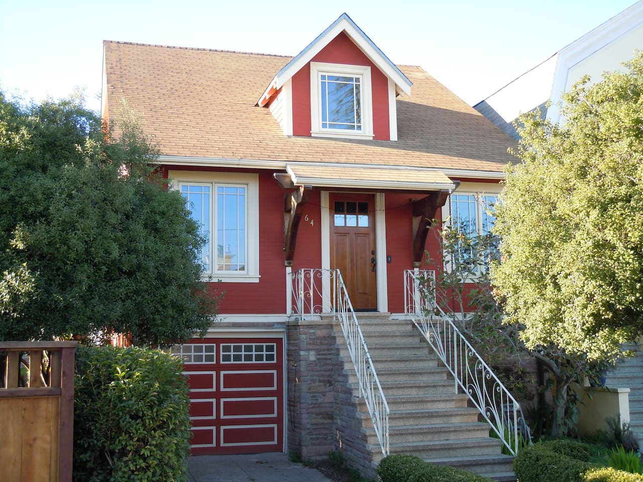 Welcome to San Francisco! Four-bedroom fully remodeled 1912 Craftsman home