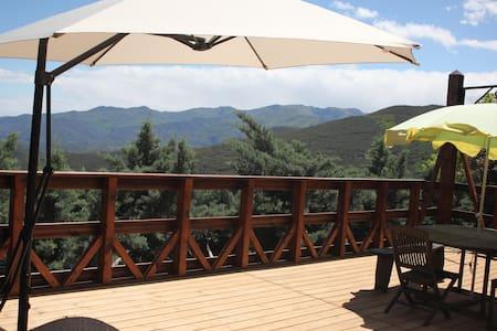Chalet nature (montagne 600m) - Haus