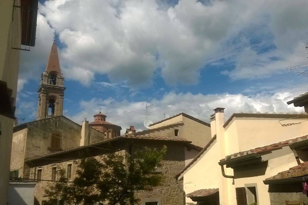 Sight from the courtyard