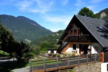 Marolland, Chambre de 3 dans chalet de montagne - Queige - Guesthouse