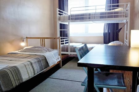 Single Bed in a 3-Person Coed Dorm - Bed & Breakfast