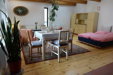 Granary Apartment - Country house 50km from Prague - Haus