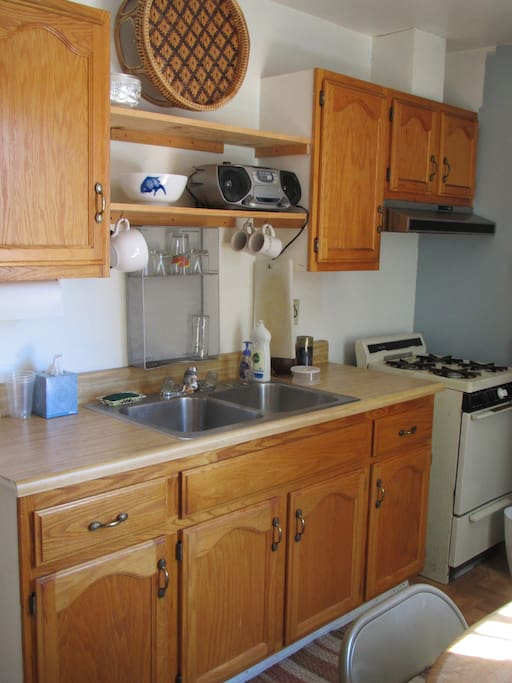 View one of Kitchen area