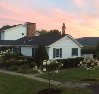 Catskills Mtn. Top Retreat with Hot tub - Huis