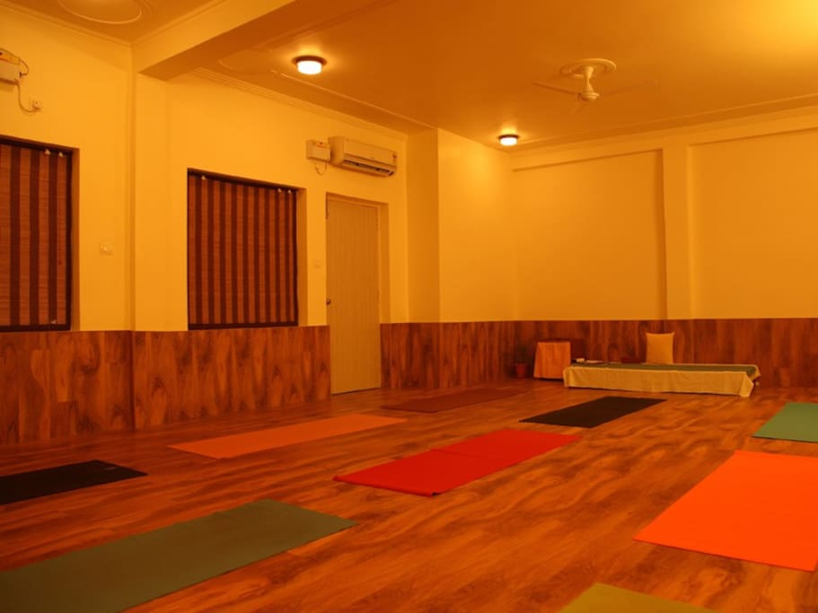 BUDDHA HALL, Yoga and Meditation Hall. WELCOME TO A WAY OF LIFE THAT REJUVENATES THE BODY AND HEALS THE SOUL!