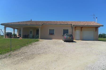 Charmante villa dans la Bresse - Servignat
