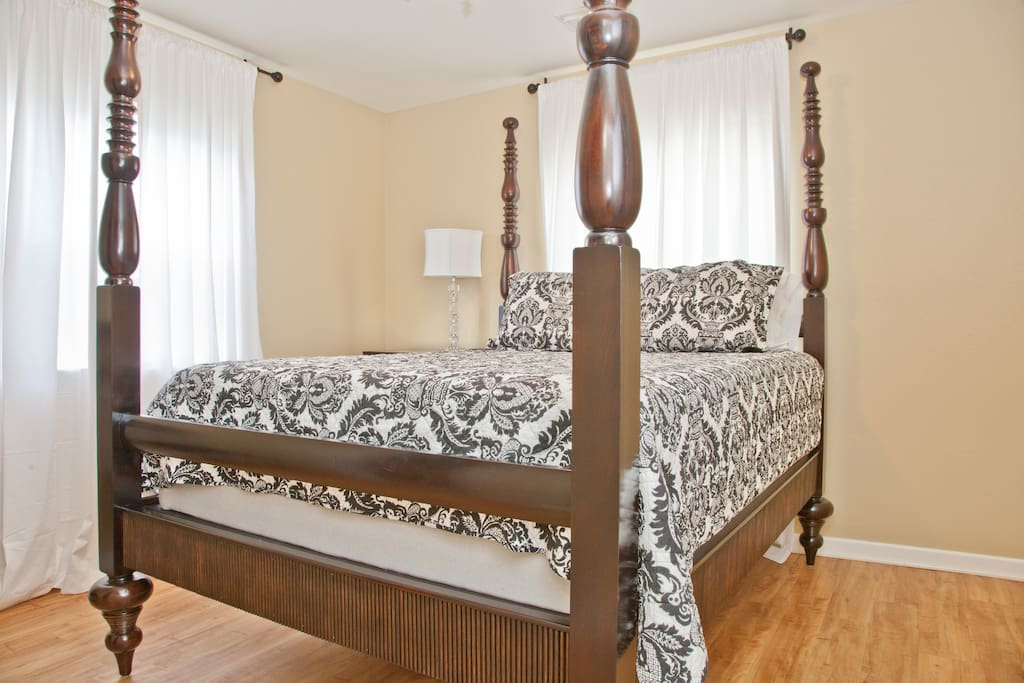 Plush guest bed