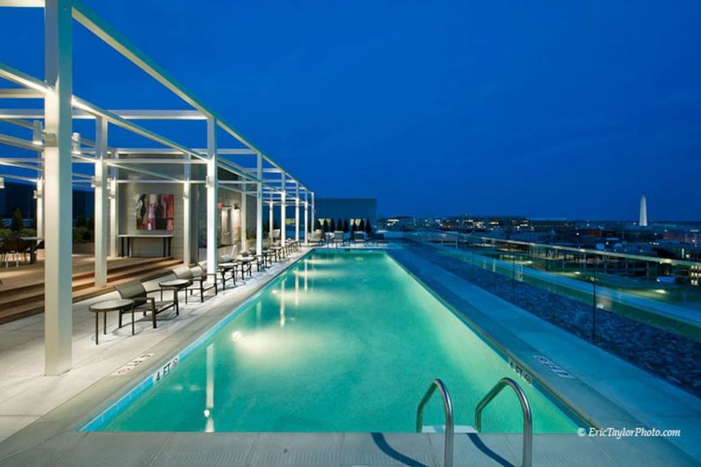 Rooftop Pool with Stunning Views