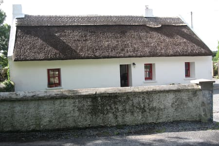 Connemara thatched cottage,Galway