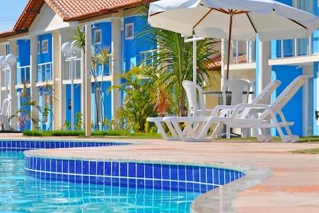 Apartamento 2 suites em Taperapuan - 波尔图塞古罗 - 公寓