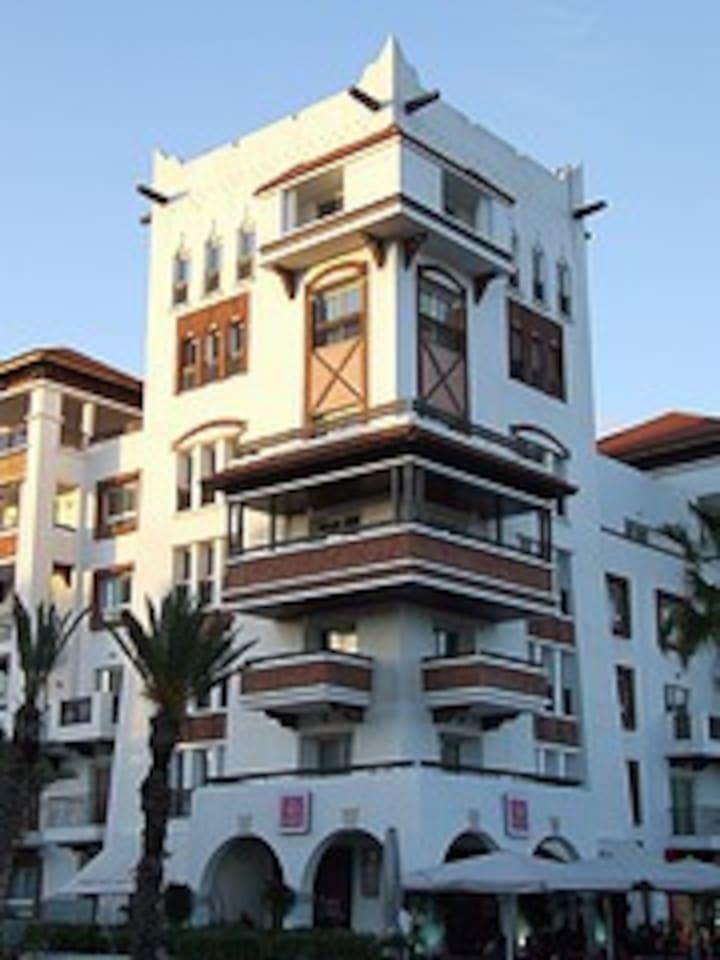 Luxury apartment in Marina Agadir