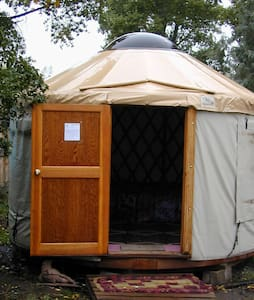 Best Eco Private Yurt Space Located Downtown - Iurta