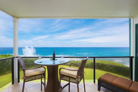 Breathtaking oceanfront condo Kauai - Apartment