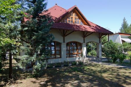 Villa 150m from Balaton, for 4-8ppl - House