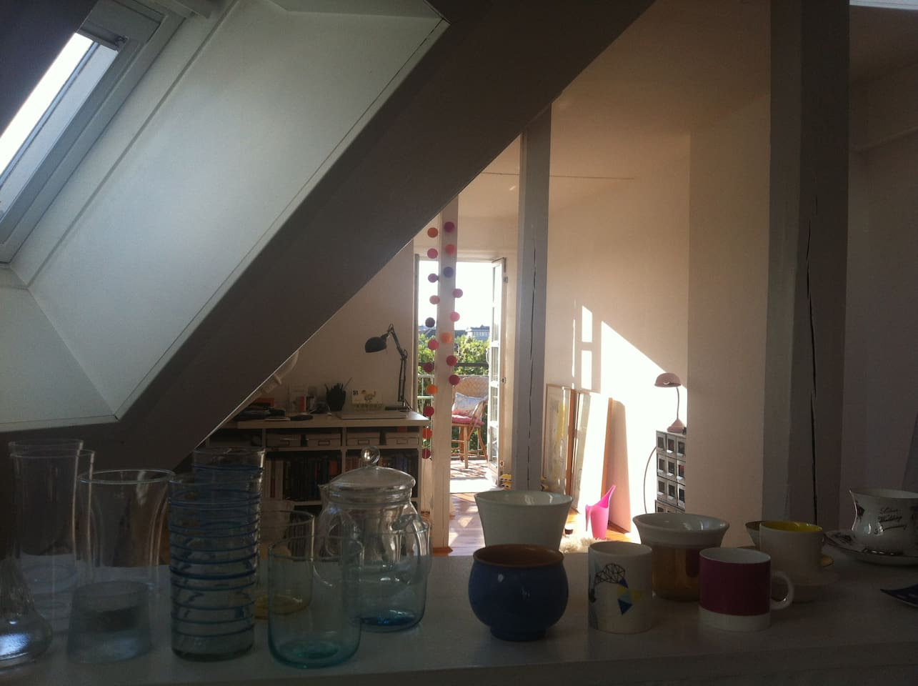 Look from the Kitchen