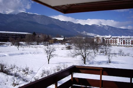 Great view to the Pirin Mountains!