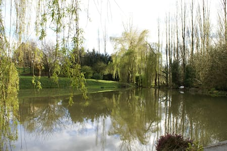 Cottage with pond near Caen - Préaux-Bocage