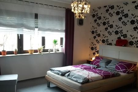 1 Zimmer mit großer Wohnküche, Bad und Balkon - Daire