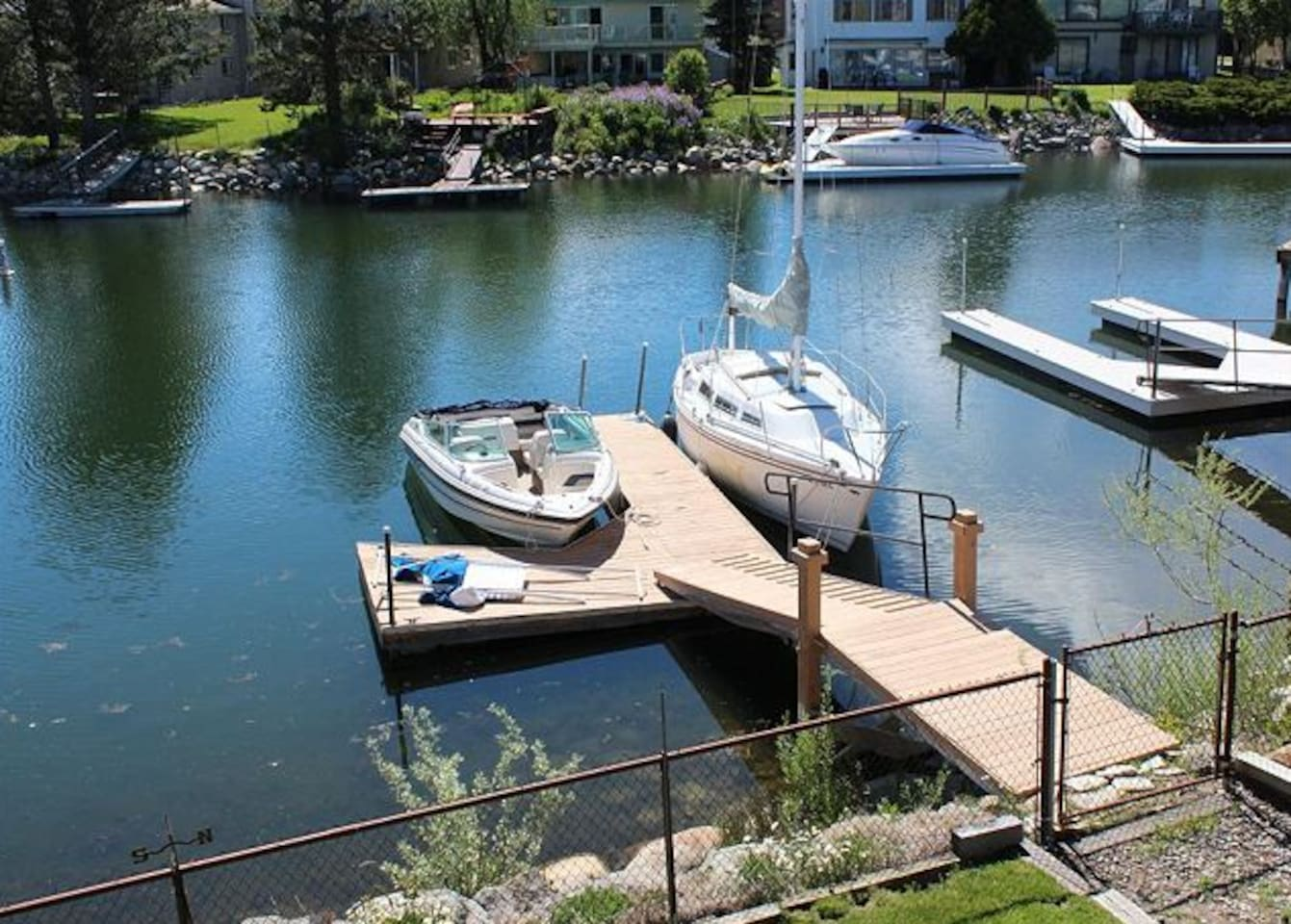 TAHOE KEYS Lake Front on the Water!