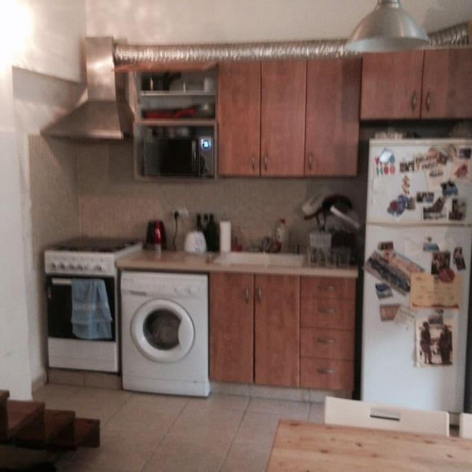 Updated kitchen - stove top, oven, washing machine, microwave, fridge and freezer