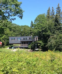 Modern house in Sorrento, Maine. - Sorrento