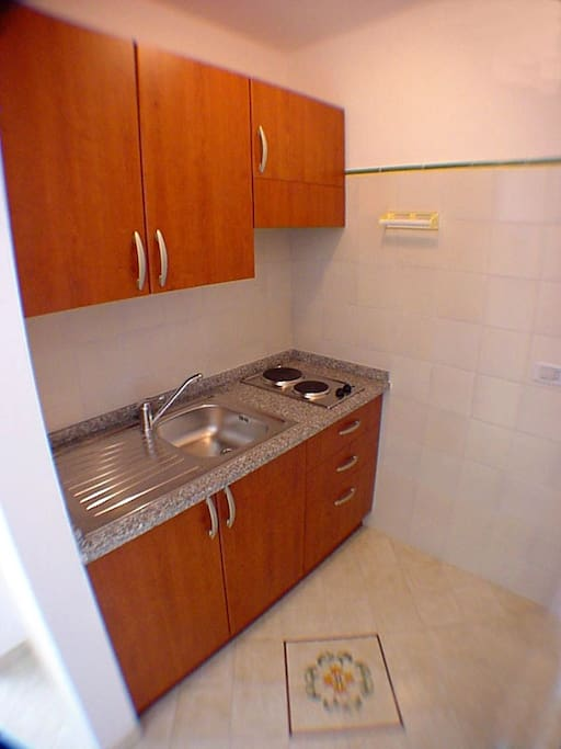 The kitchen of Ludovica Type C apartment