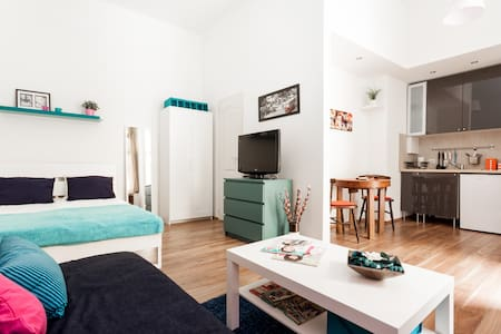Studio in nightlife at Synagogue - Budapest - Appartement