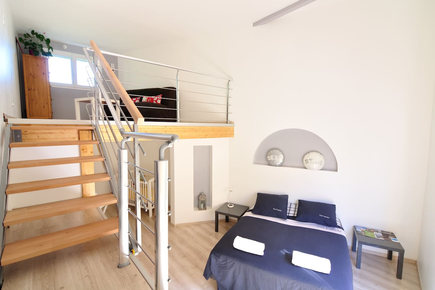 Nice room of 2 storey within a wood