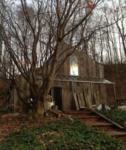 Secluded country upstate near train 1  1/2 hrs nyc - Huis