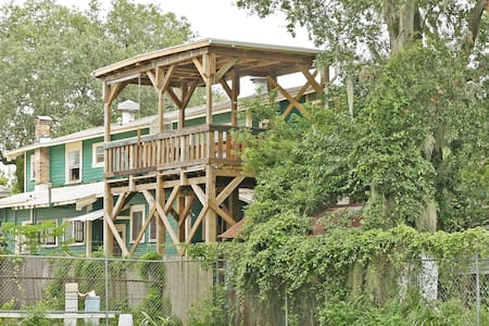Treehouse in downtown Gainesville