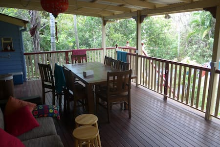 Oasis in the city. Garden with pool. Queenslander. - Cannon Hill