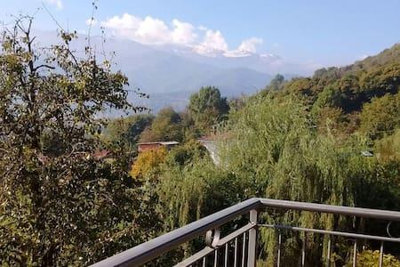 Incastonato nella natura del Monte Bracco.. comodo - Lägenhet