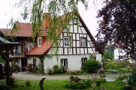 The romantic frankonian Witchhouse - Wiesenttal - Haus