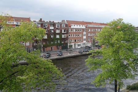 2p. Studio w. pr. Balcony, Bath, Shower & Toilet - Amsterdam
