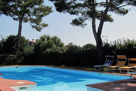 Terraced houses in a residence with swimming pool - Riccione
