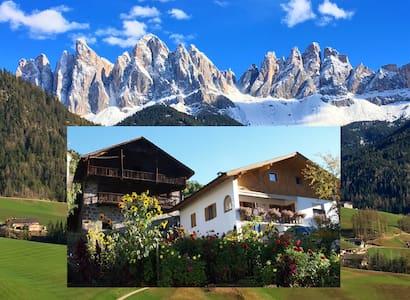 I Dolomiti nel paesino di montagna. - St.Peter - Apartment