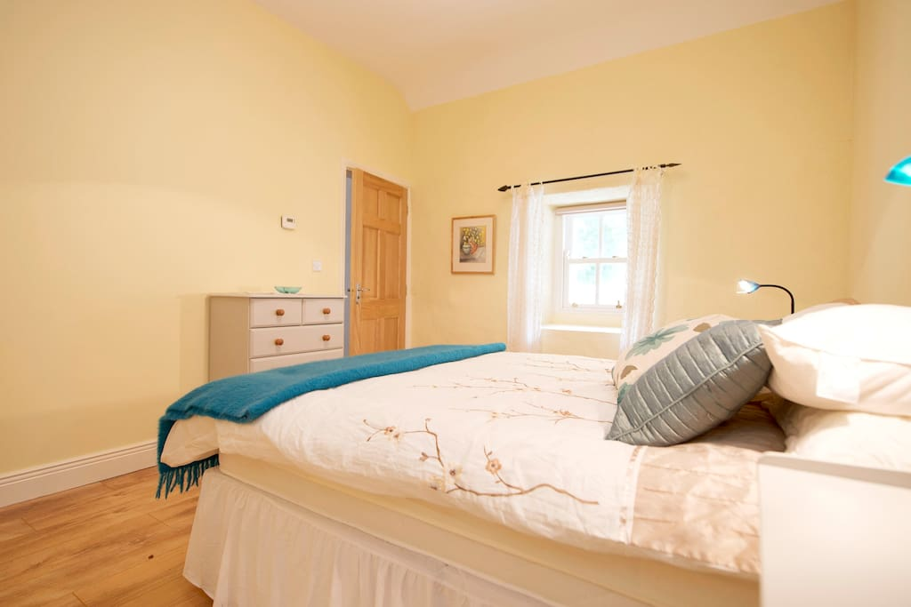 Your bedroom  is in the old cottage