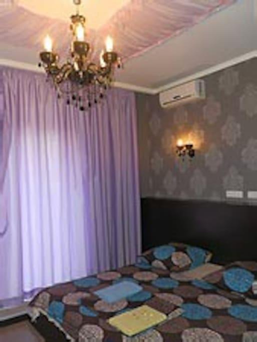 Lux flat 1 bedroom at Mironositska!