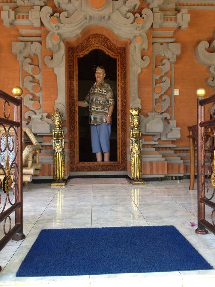 Your Entrance to your Bungalow