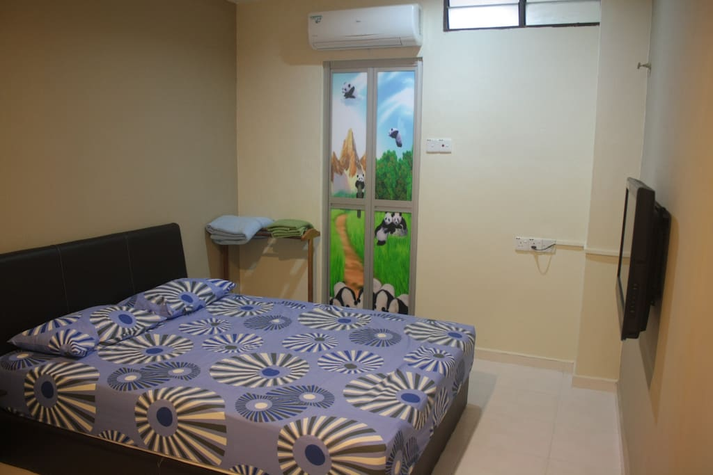 Good privacy for outstation sales person and couples.