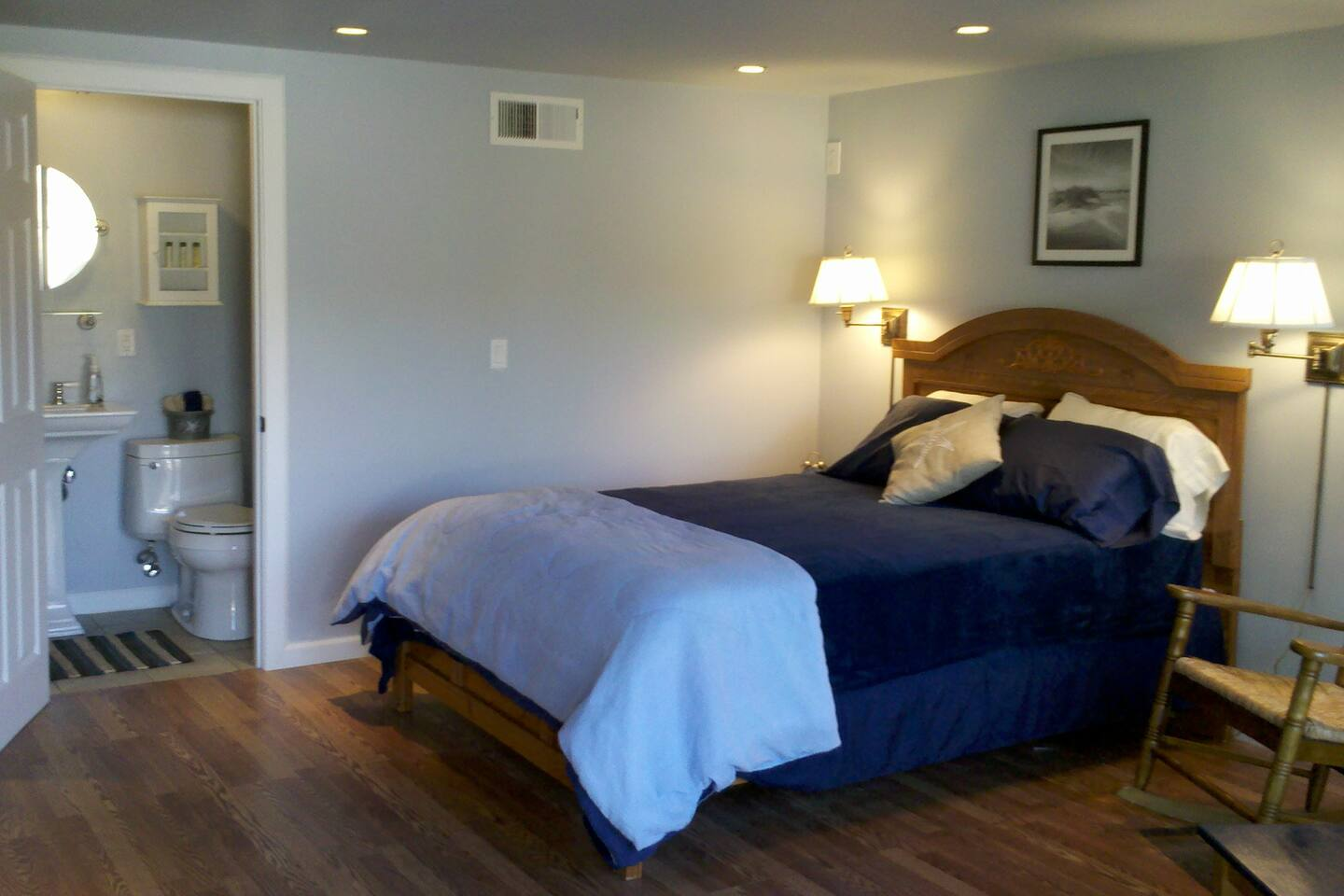 1 bed/bath in our Oceanfront home