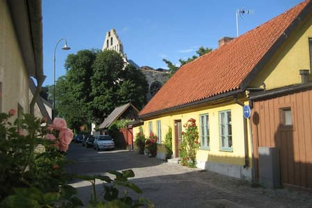 Visby old town inside the wall